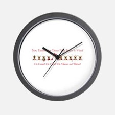 Now Dasher Wall Clock