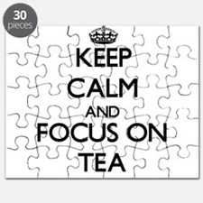 Keep Calm and focus on Tea Puzzle