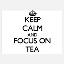 Keep Calm and focus on Tea Invitations