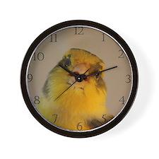 Singing Canary Wall Clock