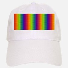 Wild Zany Rainbow Menagerie Baseball Baseball Cap