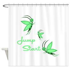 Jump Start Shower Curtain