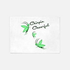 Chirpin Cheerful 5'x7'Area Rug