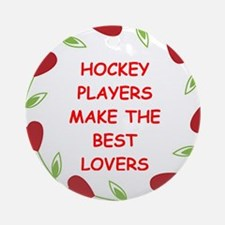 HOCKEY.png Ornament (Round)
