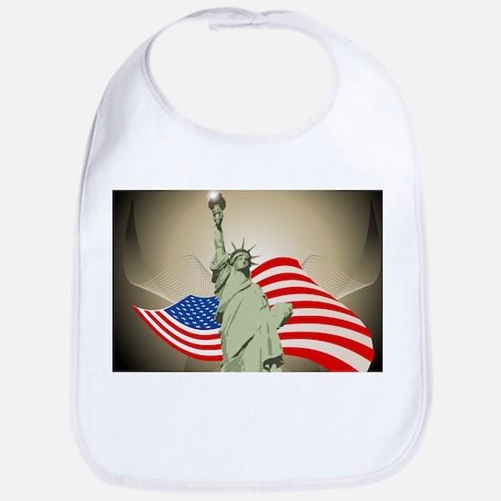 Statue of Liberty Bib