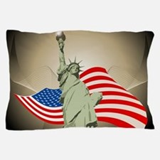Statue of Liberty Pillow Case