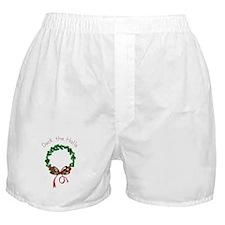 Deck The Halls Boxer Shorts