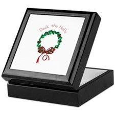 Deck The Halls Keepsake Box