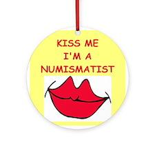 NUMISMATIST.png Ornament (Round)