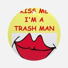 TRASH.png Ornament (Round)