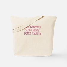 100% Tabitha Tote Bag