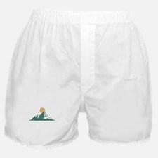 Sunrise Mountain Boxer Shorts