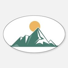 Sunrise Mountain Decal