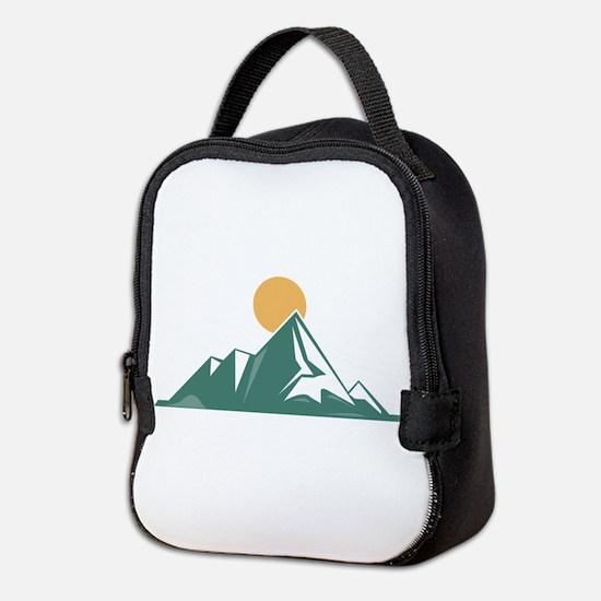 Sunrise Mountain Neoprene Lunch Bag