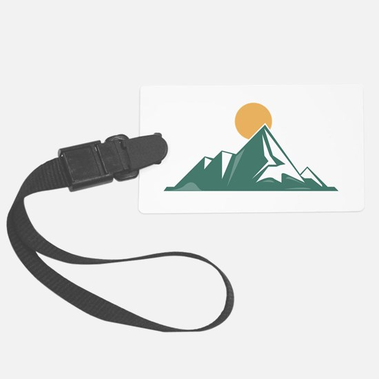 Sunrise Mountain Luggage Tag