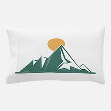 Sunrise Mountain Pillow Case