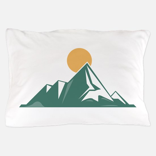 Sunrise Mountain Pillow Case