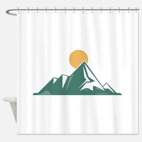 Sunrise Mountain Shower Curtain