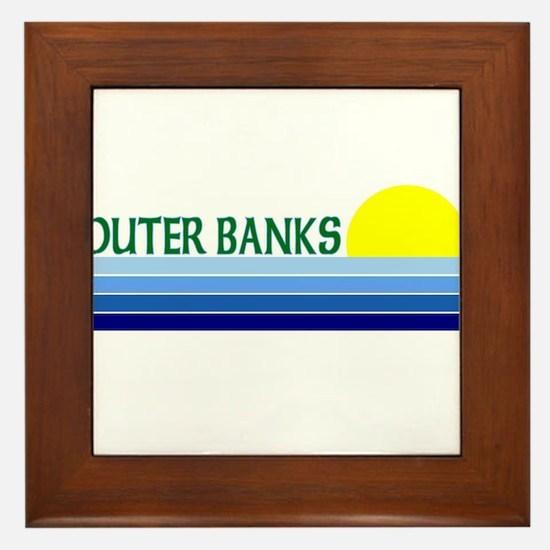 Outer Banks Framed Tile