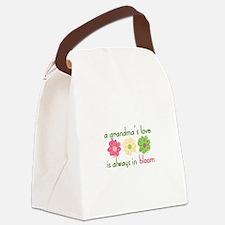 Grandmas Love Canvas Lunch Bag