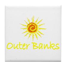 Outer Banks Tile Coaster