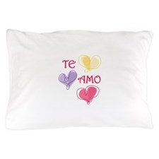 Te Amo Pillow Case