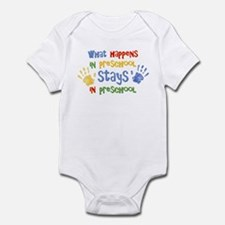 Stays In Preschool Infant Bodysuit