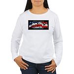 America-B Women's Long Sleeve T-Shirt