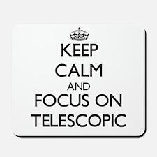 Keep Calm and focus on Telescopic Mousepad
