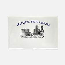 Charlotte, North Carolina Rectangle Magnet