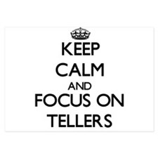 Keep Calm and focus on Tellers Invitations