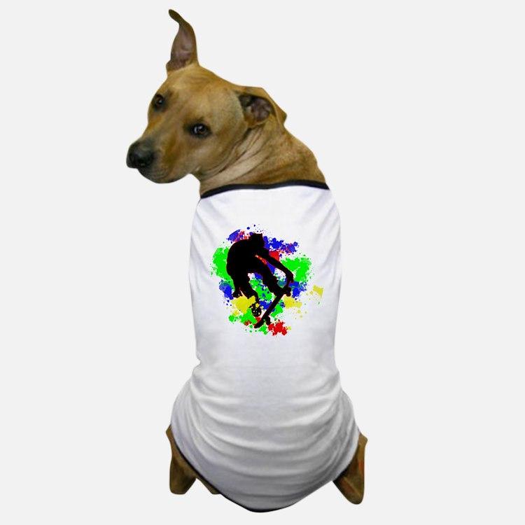 Cute Skate Dog T-Shirt