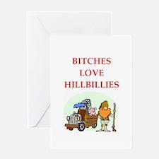 hillbilly Greeting Card
