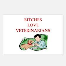 veterinarian Postcards (Package of 8)