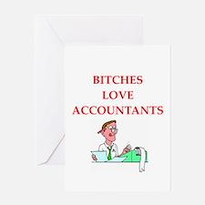 accountantt Greeting Card