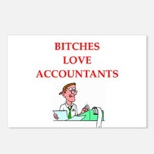 accountantt Postcards (Package of 8)