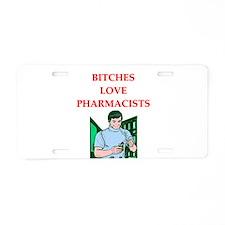 pharmacy Aluminum License Plate