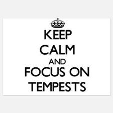 Keep Calm and focus on Tempests Invitations