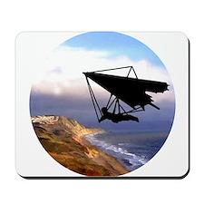 Hang Gliding Over the California Coast Mousepad