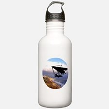 Hang Gliding Over the Water Bottle