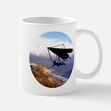 Hang Gliding Over the California Coast Mugs