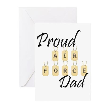 Camo AF Dad Greeting Cards (Pk of 10)