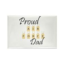 Camo AF Dad Rectangle Magnet (10 pack)