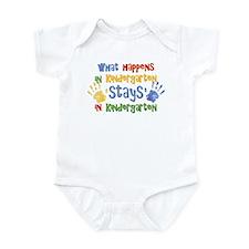 Stays In Kindergarten Infant Bodysuit