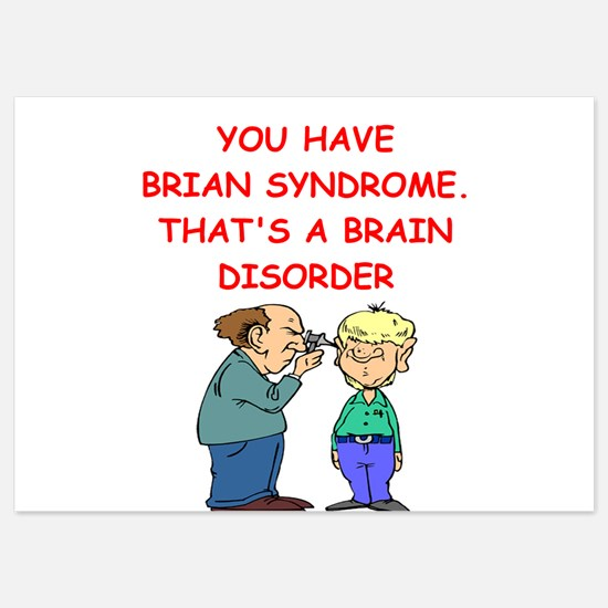 BRAIN syndrome 5x7 Flat Cards