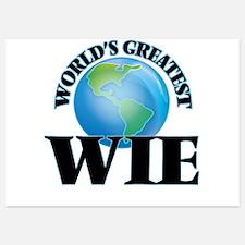World's Greatest Wie Invitations