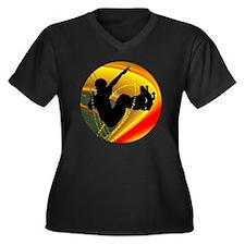 Skateboardin Plus Size T-Shirt