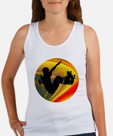 Skateboarding Silhouette in the Tank Top