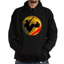Skateboarding Silhouette in the Bowl Hoody