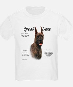 Brindle Great Dane T-Shirt